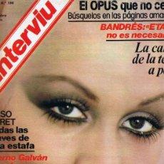 Coleccionismo de Revista Interviú: REVISTA INTERVIU - Nº 186 - MARSILLACH - LA HISTORIA NEGRA DEL SHA - CASO BARET - EL OPUS- MADELEINE. Lote 33019180