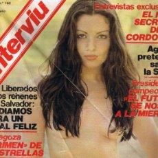 Coleccionismo de Revista Interviú: REVISTA INTERVIU - Nº 166 - AGNELLI Y SEAT - EL HIJO SECRETO EL CORDOBÉS - AMESTOY . Lote 33019750