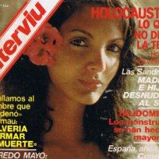 Coleccionismo de Revista Interviú: REVISTA INTERVIU - Nº 163 - HOLOCAUSTO - MELILLA - BADAJOZ - ALFREDO MAYO - LAS SANDRELLI - LA RADIO. Lote 33019780