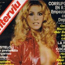 Coleccionismo de Revista Interviú: REVISTA INTERVIU - Nº 159 - SYLVIA KRISTEL - FEMINISTAS - ANGEL NIETO - BUSTELO - GEORGE HARRISON. Lote 33019904