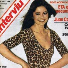 Coleccionismo de Revista Interviú: REVISTA INTERVIU - Nº 104 - ETA - FRAY JUSTO PÈREZ - LA BANCA APOYA A SUÀREZ. Lote 33020566