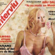 Coleccionismo de Revista Interviú: REVISTA INTERVIU Nº 38 - DOMINIQUE SANDA - ABU DAUD - ESPÍRITUS - GILMORE - SEMANA TRÁGICA EN MADRID. Lote 33238147