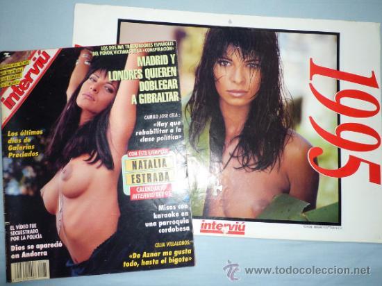 Natalia Estrada Calendario.Interviu 973 Natalia Estrada Calendario 199 Vendido En