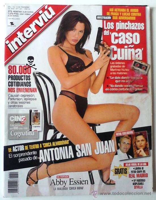 Interviu Nº1241abby Essienla Malvada Chica Bond