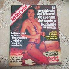 Coleccionismo de Revista Interviú: INTERVIU Nº 408, AMPARO LARRAÑAGA DESNUDA, L CHICA DE LA TERRAZA. Lote 33743152