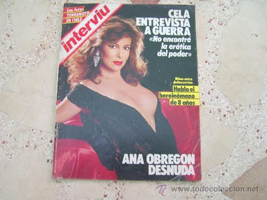 Interviu Nº 461 Ana Obregon Desnuda La Duce Neus El Terremoto De Chile
