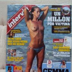 Coleccionismo de Revista Interviú: GEMMA MENGUAL . INTERVIU .. Lote 34916965