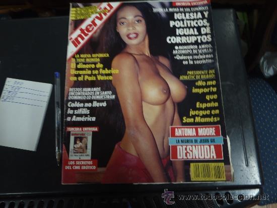 INTERVIU Nº 819 AÑO 1992 ANTONIA MOOURE DESNUDA (Coleccionismo - Revistas y Periódicos Modernos (a partir de 1.940) - Revista Interviú)
