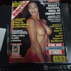 Coleccionismo de Revista Interviú: INTERVIU Nº 819 AÑO 1992 ANTONIA MOOURE DESNUDA. Lote 35357478