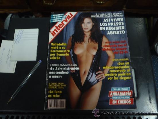 INTERVIU Nº 876 AÑO 1993 ANNAMARIA EN CUEROS (Coleccionismo - Revistas y Periódicos Modernos (a partir de 1.940) - Revista Interviú)