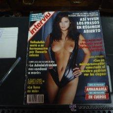 Coleccionismo de Revista Interviú: INTERVIU Nº 876 AÑO 1993 ANNAMARIA EN CUEROS. Lote 221677300