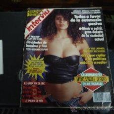 Coleccionismo de Revista Interviú: INTERVIU 817 AÑO 1992 MARTA SANCHEZ DESNUDA. Lote 35358127