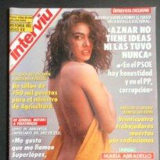 Coleccionismo de Revista Interviú: REVISTA INTERVIU Nº 882/SIDONIE DESNUDA/MARIA ABRADELO. Lote 35413083