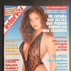Coleccionismo de Revista Interviú: REVISTA INTERVIU Nº 887/GLORIA TREVI DEL UN,DOS, TRES/CECILE FLEURY. Lote 35413732