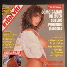 Coleccionismo de Revista Interviú: REVISTA INTERVIU Nº 888/ANGELA MOLINA TOPLESS/SHARON STONE/DONNA EWIN. Lote 35413902