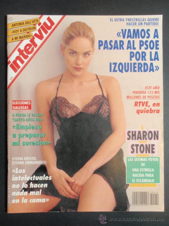 Revista Interviu Nº 912sharon Stonelili Fonseca Desnuda