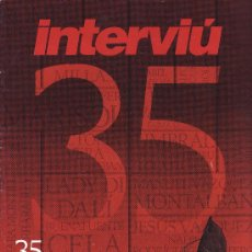 Coleccionismo de Revista Interviú: INTERVIÚ -- 35 AÑOS DE PERIODISMO EN LIBERTAD . Lote 68199437
