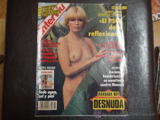 INTERVIU Nº 793 BARBARA REY DESNUDA (Coleccionismo - Revistas y Periódicos Modernos (a partir de 1.940) - Revista Interviú)