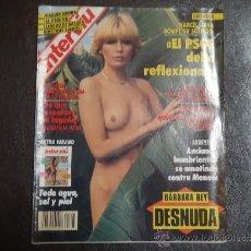 Coleccionismo de Revista Interviú: INTERVIU Nº 793 BARBARA REY DESNUDA. Lote 35478498