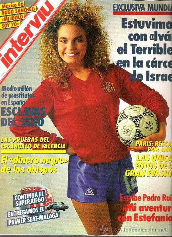 INTERVIU MUNDIAL 1986 - HUGO SANCHEZ (Coleccionismo - Revistas y Periódicos Modernos (a partir de 1.940) - Revista Interviú)