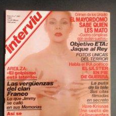 Coleccionismo de Revista Interviú: LOTE DE DIEZ REVISTAS INTERVIU DEL 261 AL 270. MAYO A JULIO 1981.. Lote 35517365