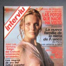 Coleccionismo de Revista Interviú: LOTE DE SEIS REVISTAS INTERVIU 191 A 196. ENERO A FEBRERO 1980.. Lote 35518862
