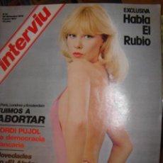 Coleccionismo de Revista Interviú: INTERVIU Nº 33 FUIMOS A ABORTAR. EL PODER DE LOS ORIOL.. Lote 60994485