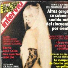 Coleccionismo de Revista Interviú: REVISTA INTERVIU Nº 790 AÑO 1991 ILONA STALLER (PORTADA). Lote 35995066