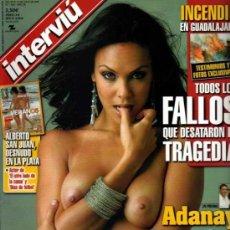 Colecionismo da Revista Interviú: INTERVIU ADANAYA. Lote 36070659