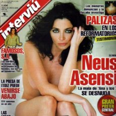Coleccionismo de Revista Interviú: INTERVIU NEUS ASENSI SE DESNUDA. Lote 36071128