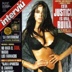 Coleccionismo de Revista Interviú: INTERVIU MARIA GRAZIA LA NOVIA DEL CARTERO Y PABLO NERUDA. Lote 36074737