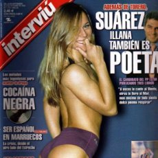 Coleccionismo de Revista Interviú: INTERVIU NORA DE POPSTAR. Lote 41555105