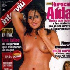 Colecionismo da Revista Interviú: INTERVIU HURACAN AIDA. Lote 36100698