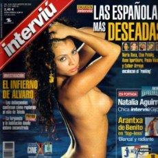 Collection Magazine Interviú - INTERVIU ARANTXA DE BENITO LAS ESPAÑOLAS MAS DESEADAS - 36100808