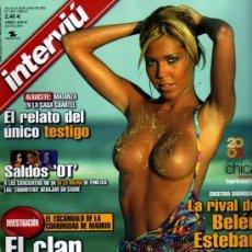 Colecionismo da Revista Interviú: INTERVIU CRISTINA SARMIENTO. Lote 42835656