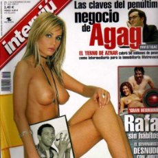 Coleccionismo de Revista Interviú: INTERVIU QUIEN DICE QUE EL BETIS NO TIENE DELANTERA?. Lote 36100843