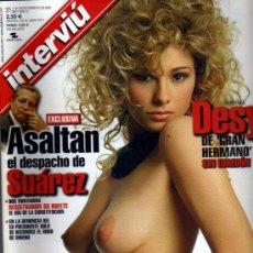 Colecionismo da Revista Interviú: INTERVIU DESY DE GH. Lote 36100853