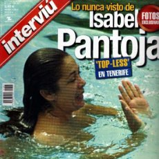 Coleccionismo de Revista Interviú: INTERVIU ISABEL PANTOJA. Lote 36100899