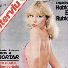 Coleccionismo de Revista Interviú: REVISTA INTERVIU Nº 33 AÑO 1976. DESTAPADA: SYLVA KOSCINA. . Lote 36103824