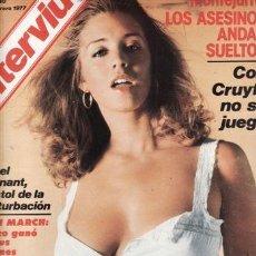 Coleccionismo de Revista Interviú: REVISTA INTERVIU Nº 40 AÑO 1977. DESTAPE: LORETA TOVAR. FRANCOISE.. Lote 36104170