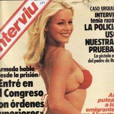 Coleccionismo de Revista Interviú: REVISTA INTERVIU Nº 389 AÑO 1983. DESTAPE: JOAN CRAWFORD. LAS AZAFATAS DEL UNO, DOS Y TRES. . Lote 36109495