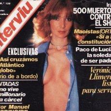 Coleccionismo de Revista Interviú: REVISTA INTERVIU Nº 120 AÑO 1978. CHICAS:BÁRBARA, LA IMPRESCINDIBLE. VERÓNICA LLIMERA. . Lote 36141693