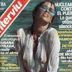 Coleccionismo de Revista Interviú: REVISTA INTERVIU EXTRA 3 ANIVERSARIO AÑO 1978. PORTADA: SUSANA NI ESTUDIA NI TRABAJA. CHICAS: LAS FA. Lote 36163743