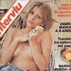 Coleccionismo de Revista Interviú: REVISTA INTERVIU Nº 2 AÑO 1976. CHICAS: MARUSHA. . Lote 36196577