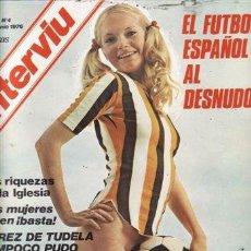 Coleccionismo de Revista Interviú: REVISTA INTERVIU Nº 4 AÑO 1976. . Lote 36196657