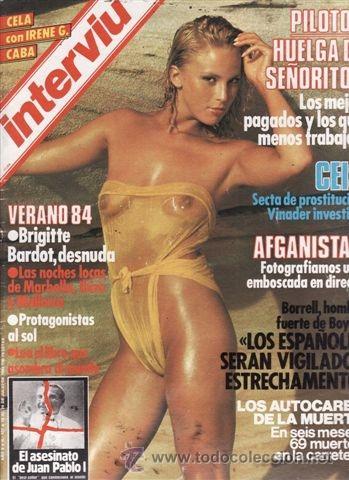 Fotos Pilladas Brigittebardot Coleccionismo Revistas