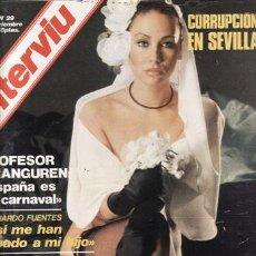 Coleccionismo de Revista Interviú: REVISTA INTERVIU Nº 29 AÑO 1976. CHICAS: SARA LEZANA, FLOR DE PIEL. ANNIE, LA GATITA.. Lote 36271441