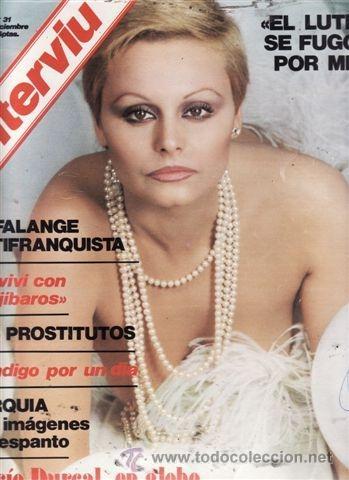 REVISTA INTERVIU Nº 31 AÑO 1976. PORTADA: ROCÍO DURCAL EN GLOBO. CHICAS: SE NOS CASA IVISA. (Coleccionismo - Revistas y Periódicos Modernos (a partir de 1.940) - Revista Interviú)