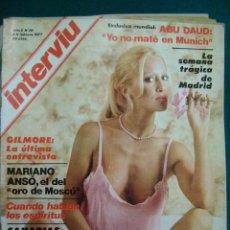Coleccionismo de Revista Interviú: INTERVIU Nº 38 FEBRERO 1977 - GARY GILMORE, MARIANO ANSÓ, DOMINIQUE SANDA, RUMASA, MARISOL. Lote 36452966