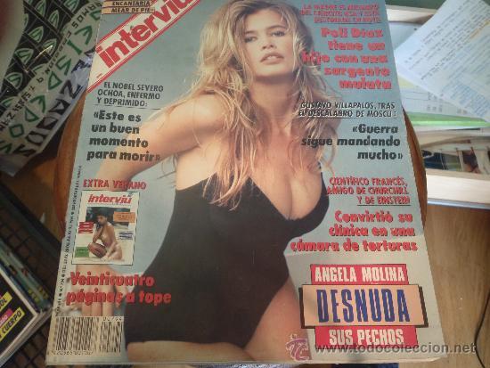 Interviu Nº 794 Angela Molina Desnuda Sus Pecho Vendido En Venta